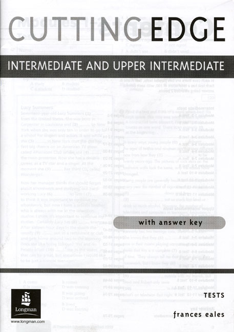 Cutting Edge Intermediate/Upper Intermediate Tests