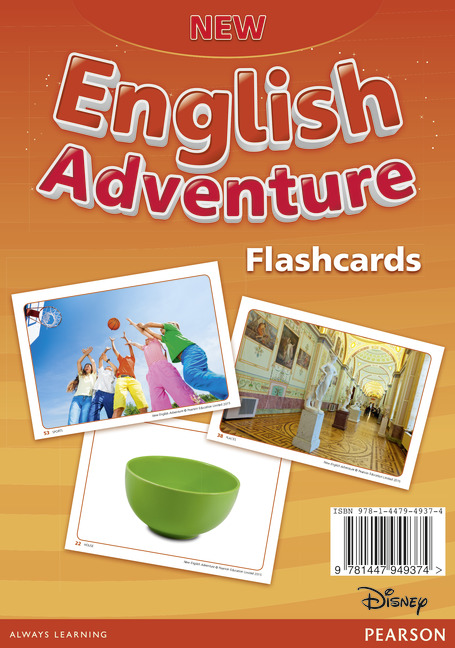 New English Adventure 2 Flashcards