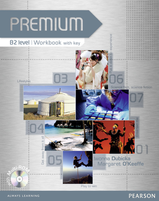 Premium B2 Workbook with Key and CD-ROM Pack