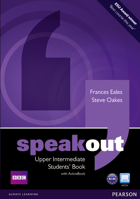 Speakout Upper Intermediate Students' Book with DVD/ Active Book