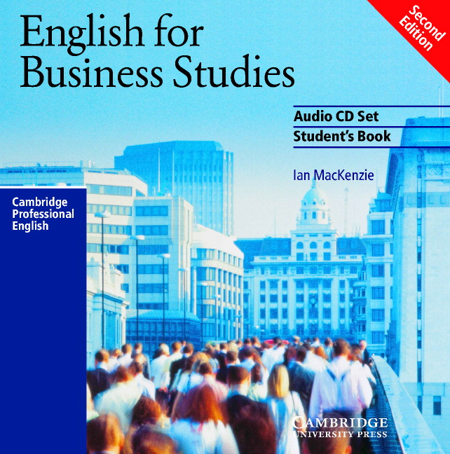 English for Business Studies Audio CD Set (2 CDs)