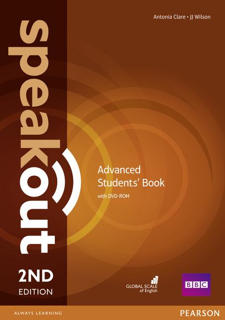 Speakout 2ed Advanced Students' Book and DVD-ROM Pack