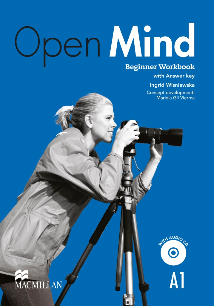 Open Mind Beginner Workbook with key and CD Pack British edition