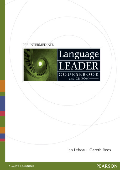 Language Leader Pre-Intermediate Coursebook and CD-ROM with MyLab Access Card Pack (compound)