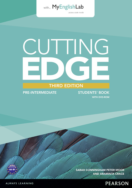 Cutting Edge 3Ed Pre-Intermediate Student's Book + DVD Pack & MyLab Pack