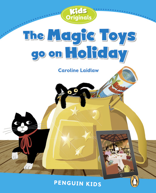 Penguin Kids 1 Magic Toys on Holiday Reader