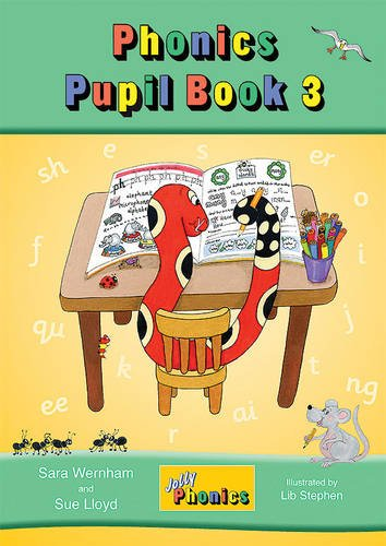 Jolly Phonics Pupil Book 3 ( color edition)