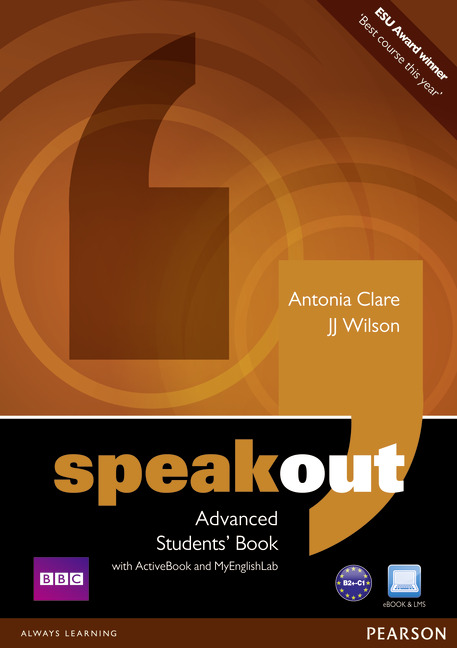 Speakout Advanced Students' Book with DVD/ActiveBook and MyLab Pack