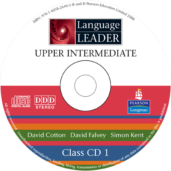 Language Leader Upper Intermediate Class CDs