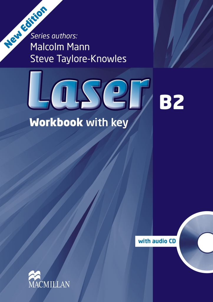 Laser 3ed B2 Workbook with key & CD Pack
