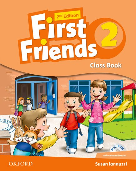 First Friends Level 2 Class Audio CD 2ED