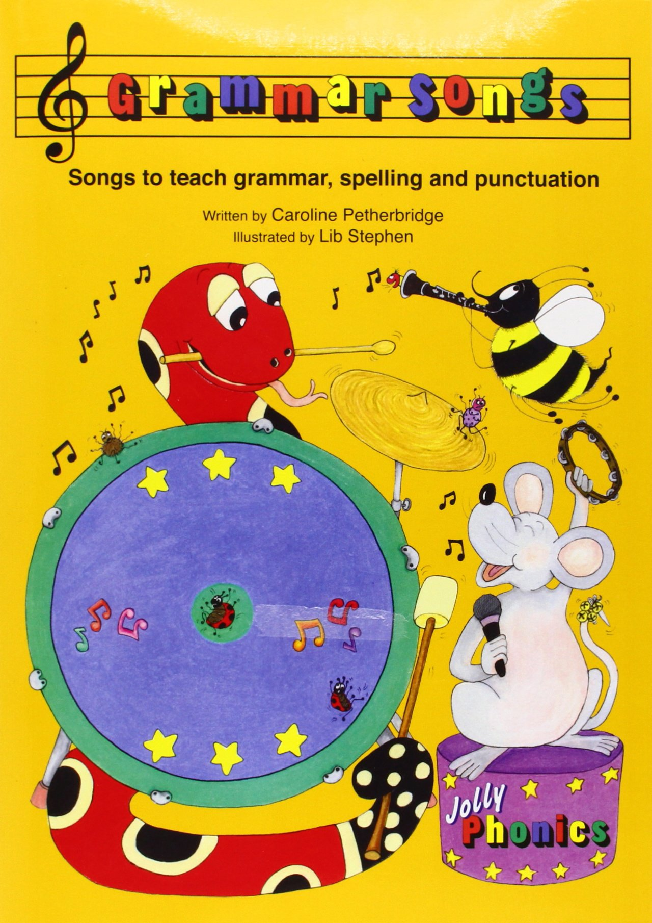 Jolly Grammar Songs (Book and CD)