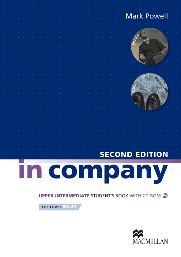 In Company 2ed Upper Intermediate Student's Book & CD-ROM Pack