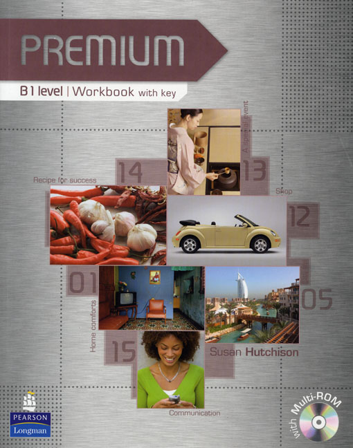 Premium B1 Workbook with key and CD-ROM Pack