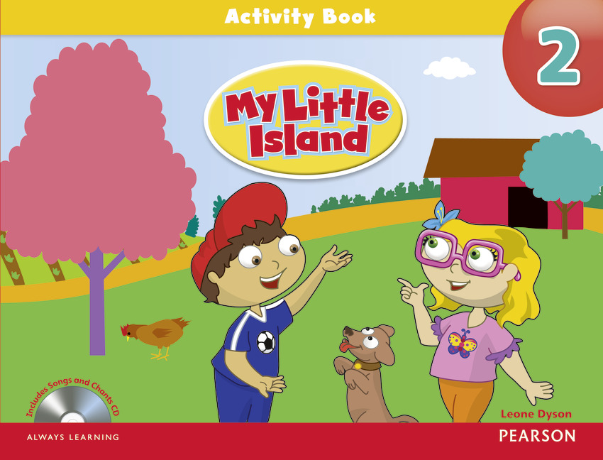 My Little Island 2 Activity Book and Songs and Chants CD Pack