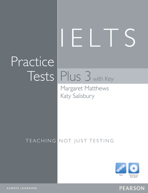 Practice Tests Plus 3 IELTS with Key with Multi-ROM and Audio CD Pack