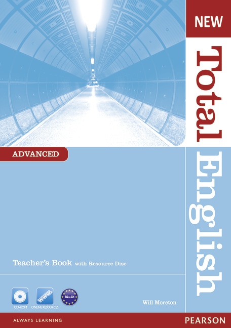 New Total English Advanced Teacher's Book and Teacher's Resource CD Pack