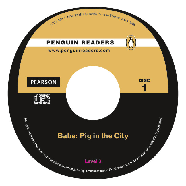 Babe-Pig in the City Book and CD Pack