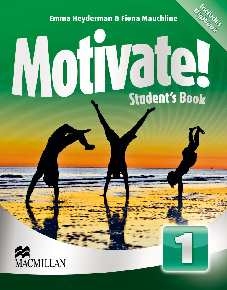 Motivate! 1 Student's Book + CD-ROM