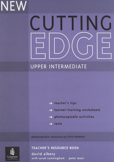 New Cutting Edge Upper Intermediate Teacher's Book and Test Master CD-ROM Pack