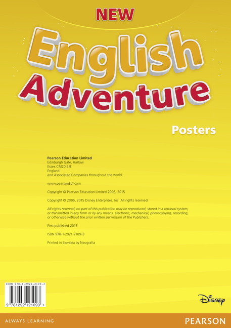 New English Adventure Starter B Posters